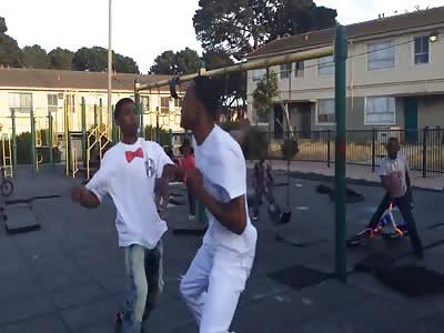 Nigger hood fight