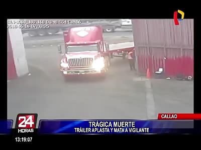 (Repost) Truck killed worker