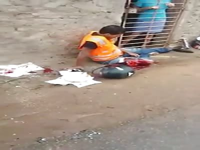 Injured man fucked up