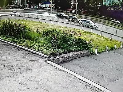 Guy walking killed by car