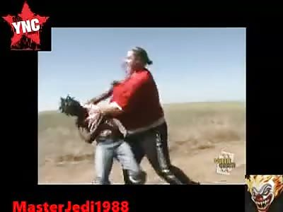 Crackhead fight