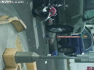 Last breath moped vs Ford