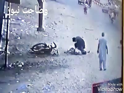 Thief Caught & Beaten