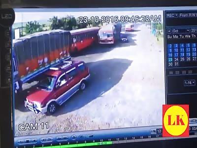 Horrific Accident on Nagpur express way
