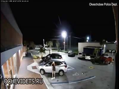 Elderly Florida Woman Run Over by Purse Thief