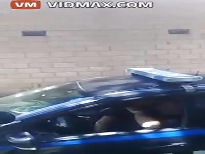Two Cops Filmed Having Sexy Time In Patrol Car