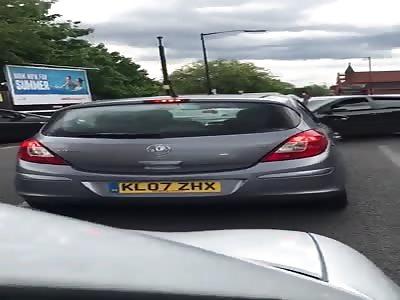 (Repost) UK Crazy street fight in Birmingham