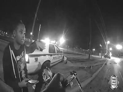 Tulsa Police Officer Crash
