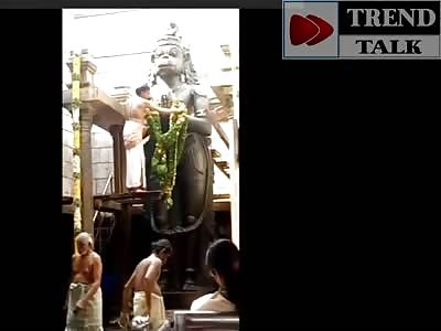 Temple Accident Priest Death - Namakkal