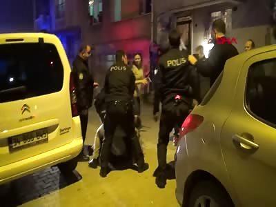 Esenyurt; The attacked police
