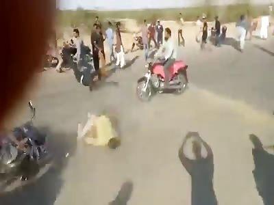 (Repost) Bike Accident in Pakistan
