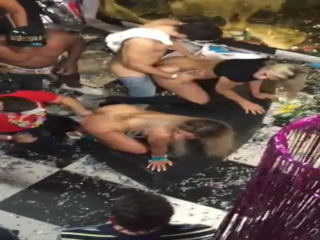 Brazil Lesbian Deep Kissing