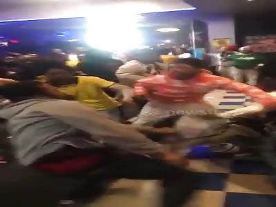 Fight at mingles