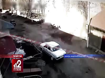 Fatal Explosion in Nizhnekamsk, Russia