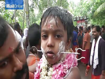 WTF , crazy india ritual