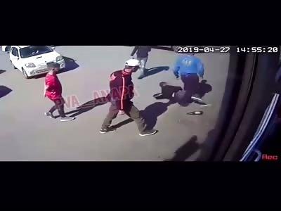 Breaking a Drunk's Neck