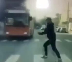 Kills Woman on Crosswalk (Dashcam & CCTV. Russia)