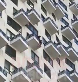 Girl Falls 20 Floors