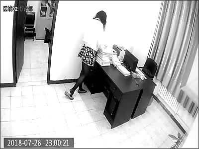 [ Surveillance camera shoot ] Girl died of cardiac arrest in office.
