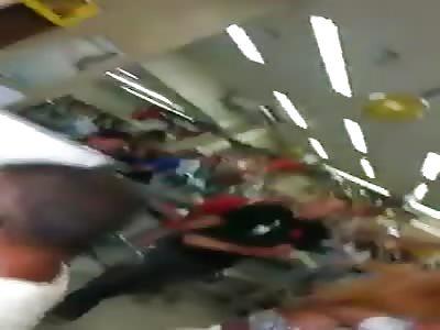 Woman beaten