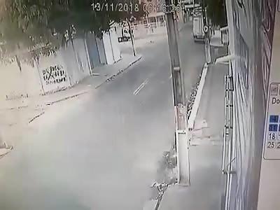 Accident Video caught on CCTV Camera