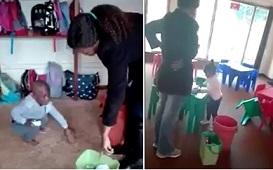 Kindergarten Teacher Caught Beating Children