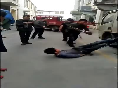 Thief gets his punishment