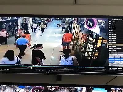 Girlfriend killed in subway station