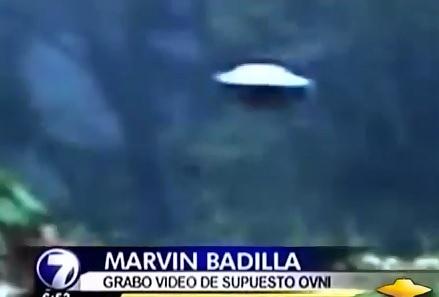 Convincing News Report of UFO Filmed in Costa Rica