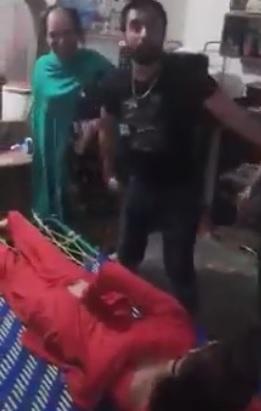 Pakistani Man Beats Transgender With Belt