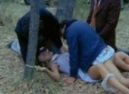 3 Guys Violate Girl in a Field