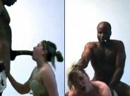 Slut fucks every black guy she sees on Fetlife!