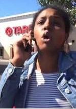 Psycho Black Girl Attacks Family in Parking Lot Including Children