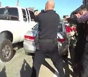 Dumb Ass Fleeing Suspect Shot 235 Times