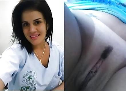 Hot Nurse Exposed