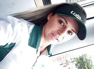 Scandal: Pump attendant sucks colleague in car