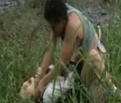 Horrific Violation and Choking Murder