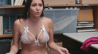 Stripper Caught Shoplifting
