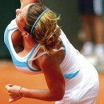 WOW: Tennis Chick Simona Halep Pefect Titty Courtside Wardrobe Fail