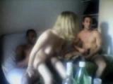 French slut loves dorm orgies