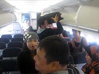 Singaporean Woman Has a Crazy Meltdown While Leaving a Plane