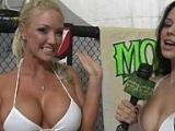 Big tits Molly vs. Naked Havoc
