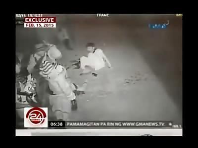 Moronic NPA Militant Accidentally Detonates Grenade in His Own Group