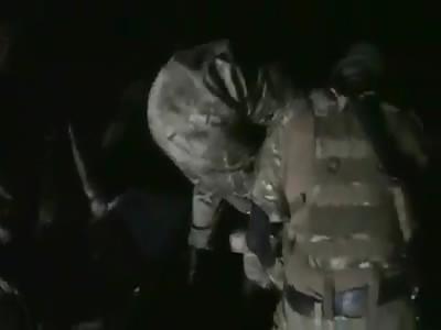 Ukranian Neo Nazi Azov Battalion Crucified a POW