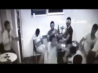 CCTV Caught Man Being Stabbed Multiple Times in Tel Aviv