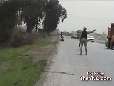 Stopping Traffic in Iraq