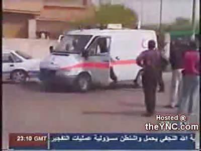 Ambulance driver shot in Iraq