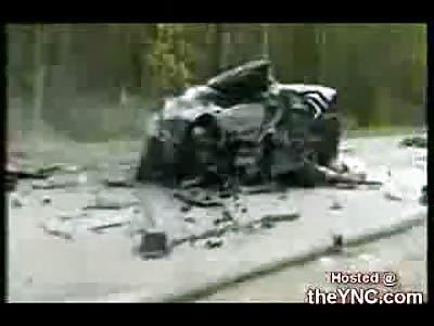 8 Die in Tragic Russian Car Crash
