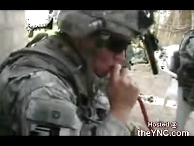 US Soliders Caught Smoking Iraqi Weed