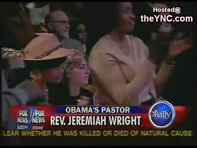 Barack Obama's Racist America Hating Pastor